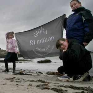 Islanders on Gigha were supported through Scottish Land Fund and BIg Lottery Fund grants