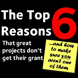Top 6 reasons great projects don't get grants
