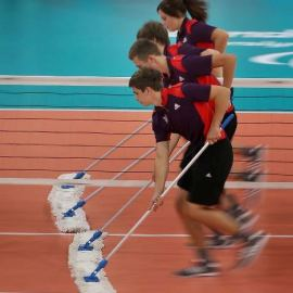 The volunteer army of London 2012 Games-makers were credited with delivering the feel good factor.