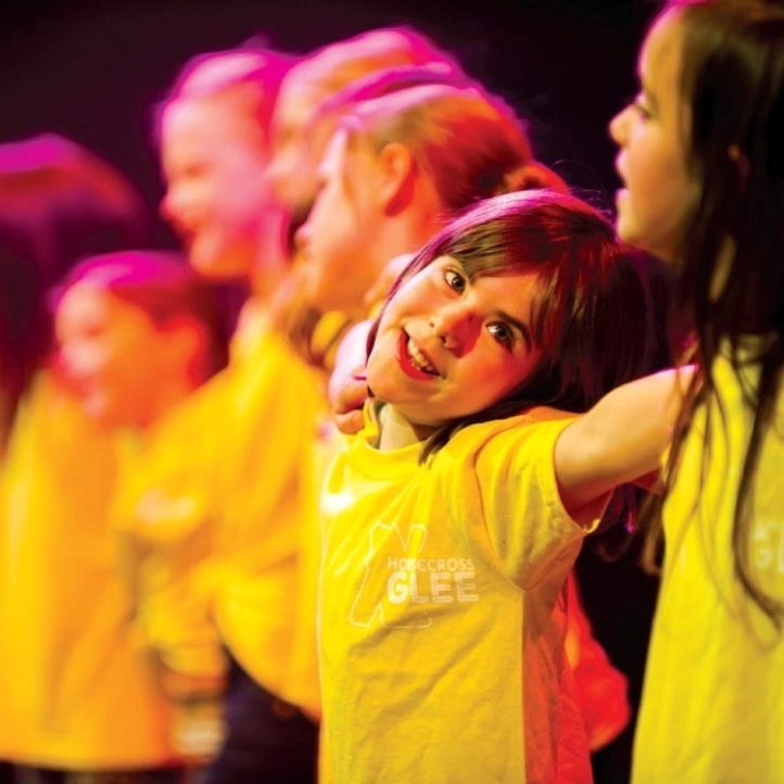 Children from the Little Stars project from Horsecross Arts in Perth