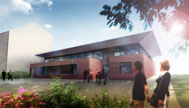 Artists impression of new Barmulloch Community Centre