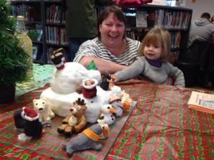 Jane and Beth Christmas 2013
