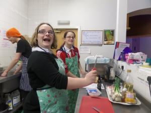 Fun in the kitchen