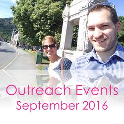 Outreach Events September 2016