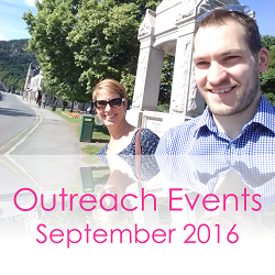 Outreach Events September 2016