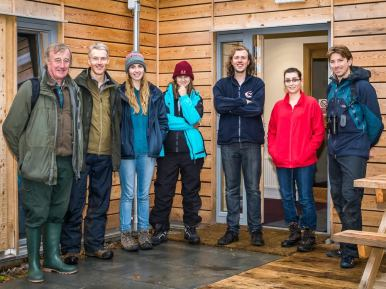 Rum Bunkhouse, a Growing Community Assets project
