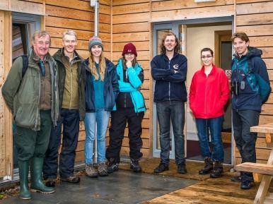 Rum Bunkhouse, a Growing Community Assets project