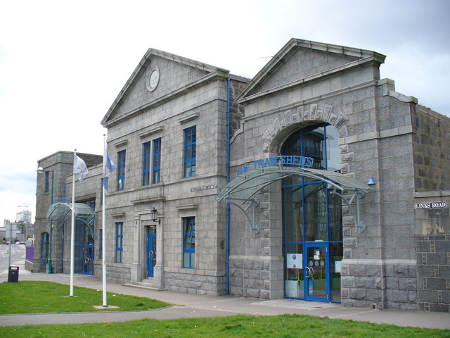 Photo of Aberdeen Science Centre building