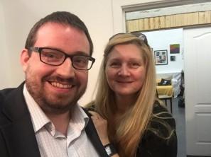 Andrew Lindsay, Big Lottery Fund, and Angela Beardsley, Resonate Arts House
