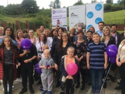 Glasgow community gathered together for the Wheatley Group's My Money service launch